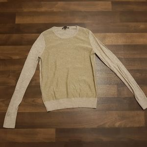 Gold Ann Taylor Sweater Size Small